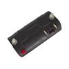Busch + Müller Toplight Line + BrakeTec Fietsverlichting met parkeerlicht 80 mm zwart